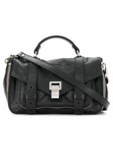 Proenza Schouler Zip PS1+ Tiny - Black