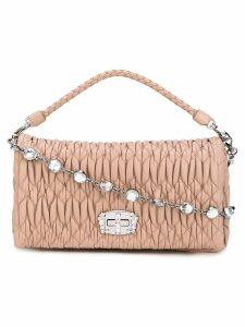 Miu Miu mini quilted shoulder bag - Pink