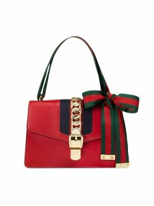 Gucci Sylvie leather shoulder bag - Red