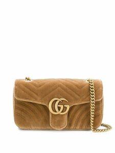 Gucci GG Marmont chain shoulder bag - Neutrals