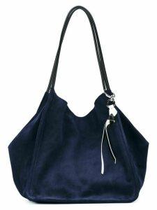 Proenza Schouler Suede XL Tote - Blue