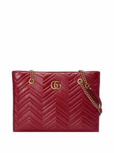 Gucci GG Marmont matelassé medium tote - Red