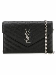 Saint Laurent Monogram crossbody bag - Black