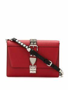 Prada studded Elektra shoulder bag - Red