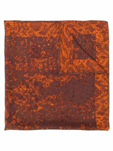 Yves Saint Laurent Pre-Owned printed scarf - Brown