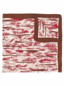 Giorgio Armani Pre-Owned printed scarf - Red