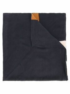 Yves Saint Laurent Pre-Owned patterned scarf - Black