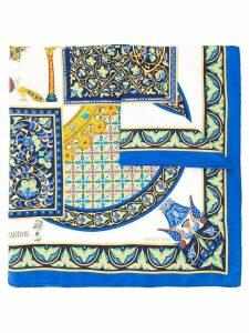 Hermès Pre-Owned byzantine scarf stole - Blue