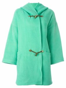 Versace Pre-Owned hooded coat - Blue