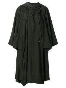 Issey Miyake Pre-Owned Umbrella cape coat - Green