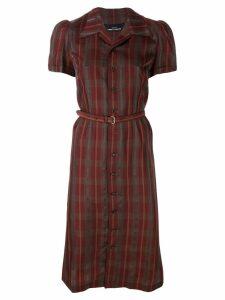 Comme Des Garçons Pre-Owned 1995 shirt dress - Red