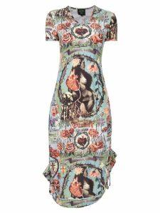 Jean Paul Gaultier Pre-Owned printed dress - Multicolour