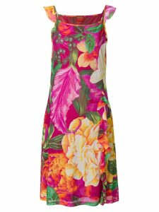 Kenzo Pre-Owned floral print dress - Pink