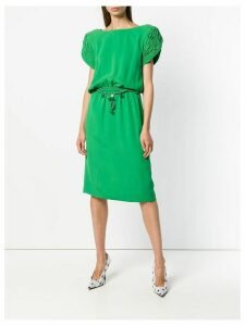 Valentino Pre-Owned shortsleeved mid-length dress - Green