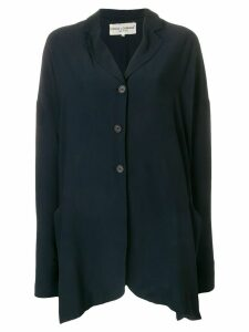 Dolce & Gabbana Pre-Owned loose fit shirt jacket - Blue