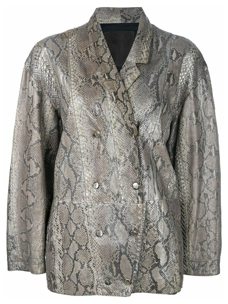 A.N.G.E.L.O. Vintage Cult double breasted jacket - Metallic
