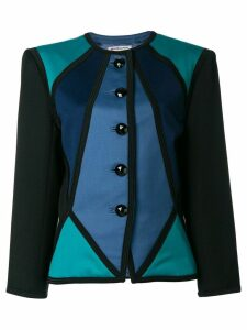 Yves Saint Laurent Pre-Owned color block jacket - Multicolour