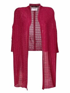 John Galliano Pre-Owned lured knitted cardigan - Pink