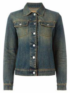Helmut Lang Pre-Owned faded denim jacket - Blue