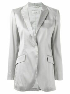 Romeo Gigli Pre-Owned classic jacket - Grey