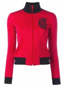 Jean Paul Gaultier Pre-Owned sport zipped jacket - Red