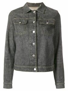 Helmut Lang Pre-Owned denim jacket - Grey