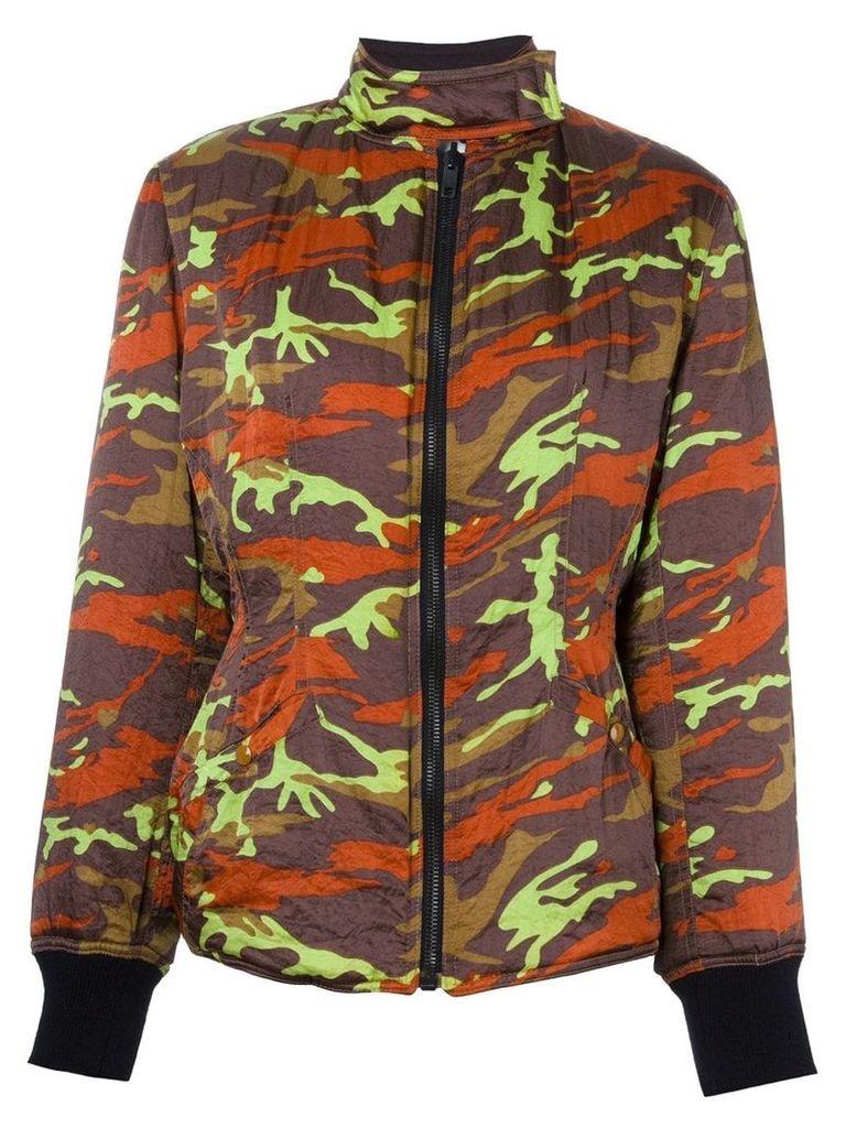 Jean Paul Gaultier Vintage camouflage jacket - Multicolour