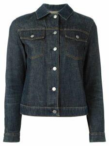 Helmut Lang Pre-Owned 1999 raw denim jacket - Blue