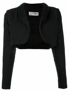 Jean Paul Gaultier Pre-Owned cropped jacket - Black