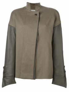 Gianfranco Ferre Pre-Owned panelled jacket - Brown