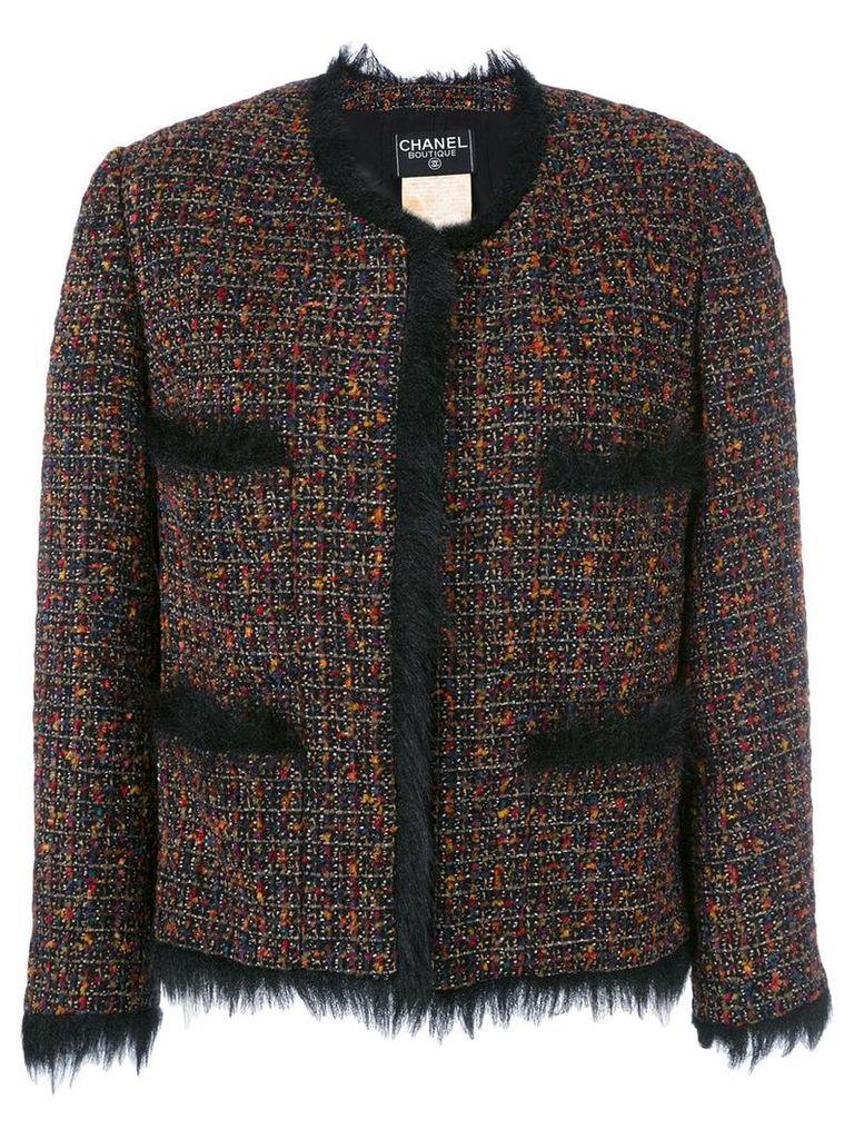 Chanel Vintage tweed jacket - Multicolour