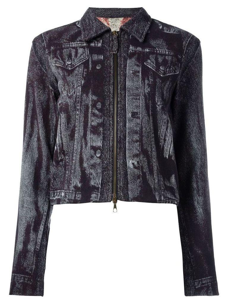 Jean Paul Gaultier Vintage trompe-l'oeil jacket - Purple