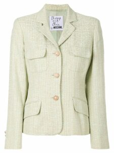 Moschino Pre-Owned military single breasted blazer - Green