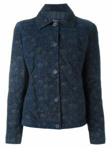 Romeo Gigli Pre-Owned glitter jacket - Blue