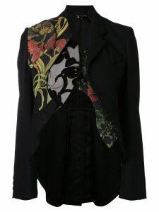 Comme Des Garçons Pre-Owned deconstructed tailcoat - Black