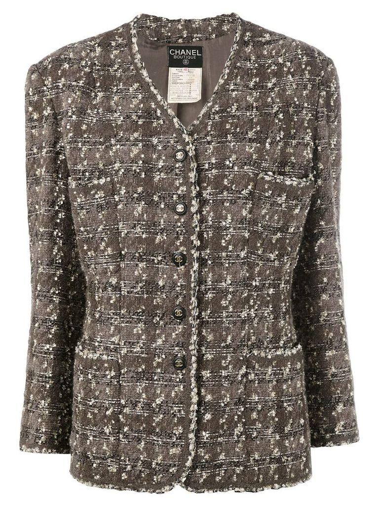 Chanel Vintage tweed jacket - Brown