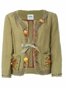 Moschino Pre-Owned embellished jacket - Green