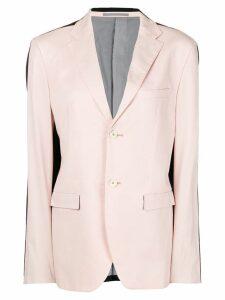 Jil Sander Pre-Owned contrasting straight blazer - PINK