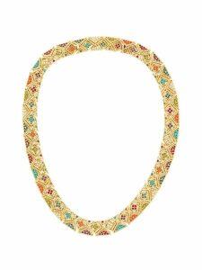 Susan Caplan Vintage 1980s Vintage D'Orlan Colourful Collar - GOLD
