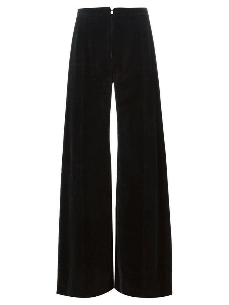 Emanuel Ungaro Vintage flared trousers - Black