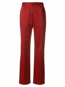 Moschino Pre-Owned high-rise flared trousers
