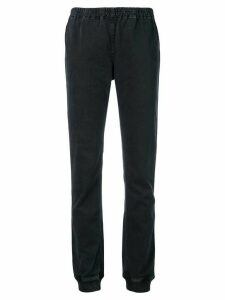 Maison Martin Margiela Pre-Owned elasticated trims trousers - Black