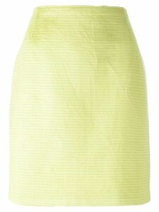 Gianfranco Ferré Pre-Owned straight skirt - Green