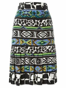 Jean Louis Scherrer Pre-Owned printed A-line skirt - Multicolour