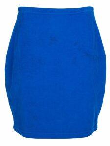 Versace Pre-Owned denim skirt - Blue