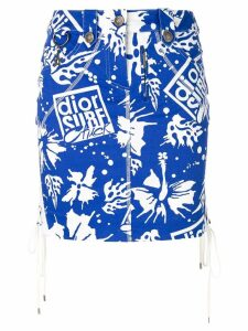 Christian Dior Pre-Owned Dior Surf Chic skirt - Blue