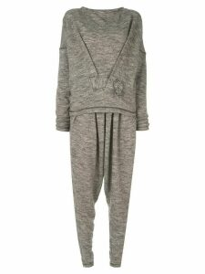 Issey Miyake Pre-Owned jumper and trouser set - Grey
