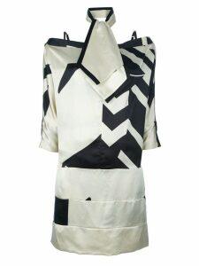 Gianfranco Ferré Pre-Owned 3-piece skirt suit - NEUTRALS