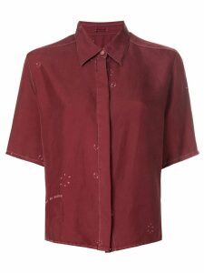 Hermès Pre-Owned shortsleeved shirt - Red