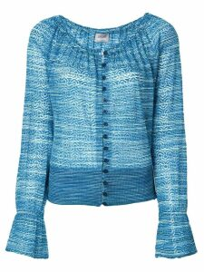 Missoni Pre-Owned printed cardigan - Blue